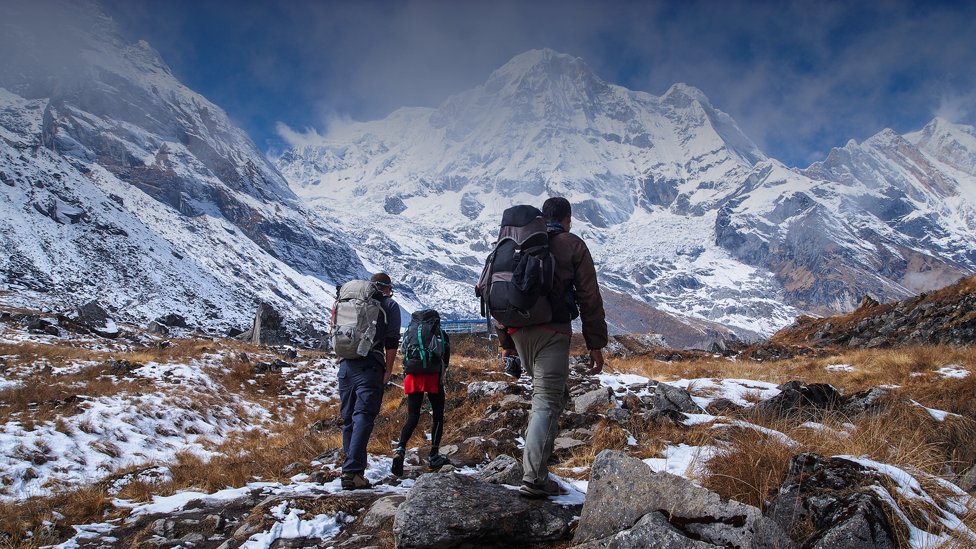 Day 05: Trek from MBC to Annapurna base camp (4130m) and trek back to Dovan (2600m)